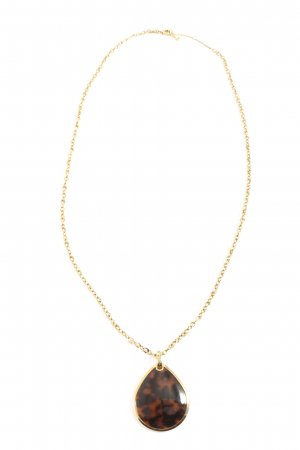 Fossil Collier goldfarben Casual-Look