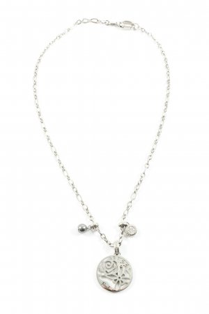 Fossil Collier Necklace silver-colored casual look