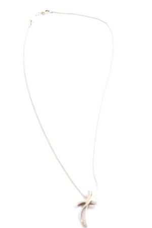 Fossil Collier silberfarben Elegant