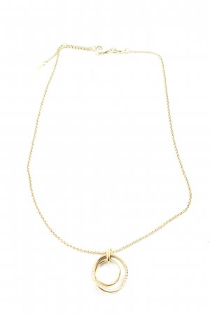 Fossil Collier goud casual uitstraling