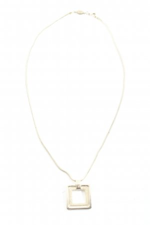 Fossil Collier silberfarben Casual-Look