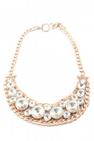 Fossil Collier Necklace gold-colored wet-look