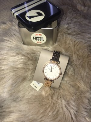 Fossil Self-Winding Watch rose-gold-coloured