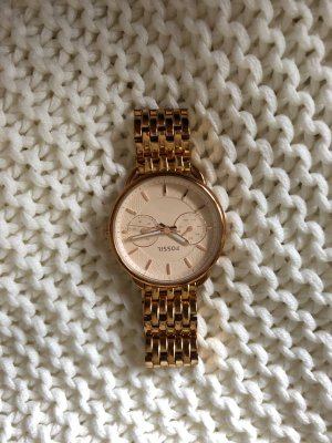 Fossil Analog Watch gold-colored-rose-gold-coloured