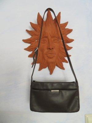 Fossil Dunkelbraune Hobo Tasche Echtleder - Ledertasche Unterarmtasche Schultertasche Umhängetasche