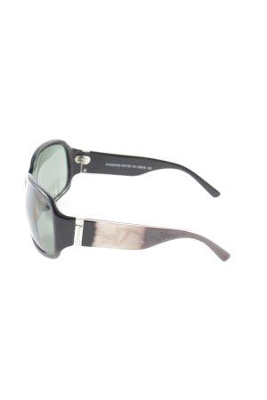 Fossil eckige Sonnenbrille schwarz Farbverlauf Casual-Look