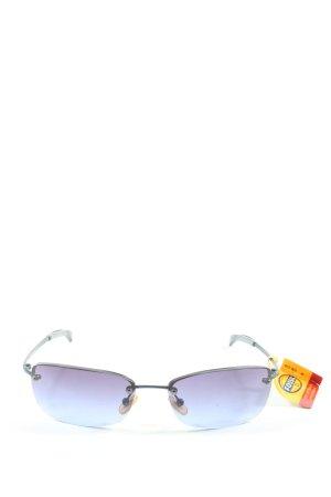Fossil eckige Sonnenbrille schwarz Street-Fashion-Look