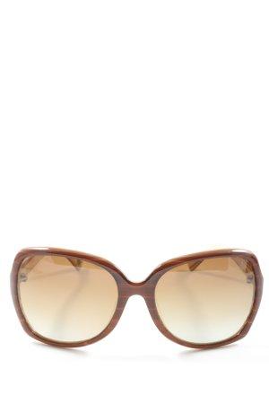Fossil Gafas de sol cuadradas marrón look casual