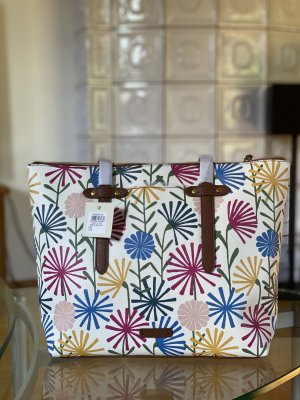 Fossil Felicity Tote Spring Bouquet