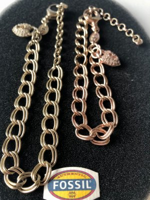 Fossil Charm Bracelet gold-colored-rose-gold-coloured