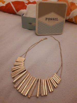 Fossil Łańcuch złotopomarańczowy Metal