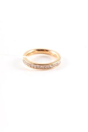Fossil Gouden ring goud zakelijke stijl