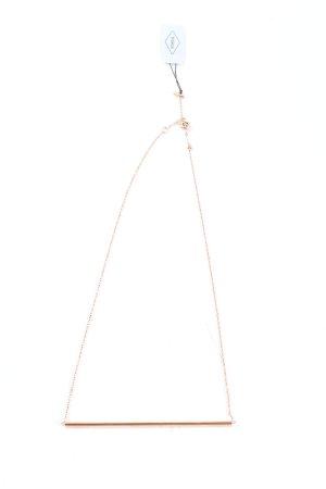 Fossil Halskette goldfarben Elegant
