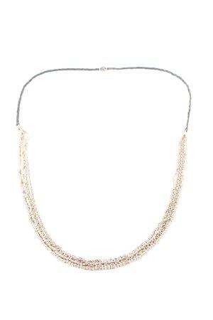 Fossil Halskette goldfarben-schwarz Casual-Look