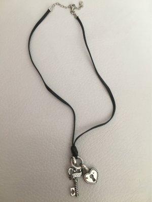 FOSSIL Halskette Herz mit Schlüssel NEU