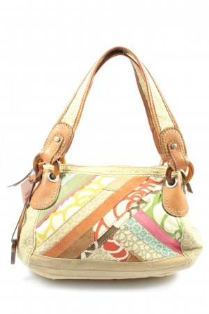 Fossil Handtasche abstraktes Muster Casual-Look