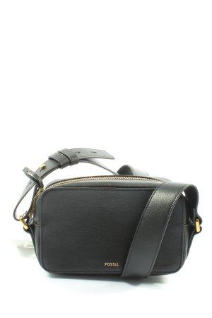 Fossil Handtasche schwarz Motivdruck Casual-Look