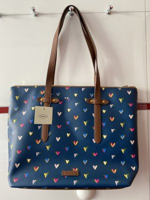 Fossil Heart Tote
