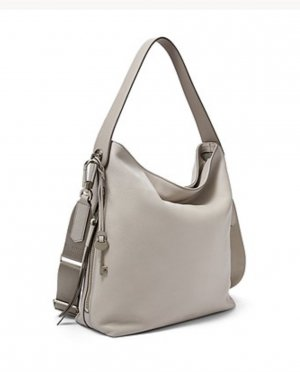 Fossil Sac hobo gris clair