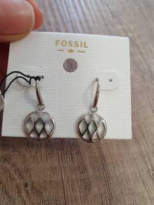 Fossil JF02722040 Ohrringe Ohrhänger neu silber durchzieher
