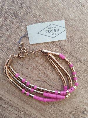 Fossil JOA00388791 Armband Neu Rosè gold pink Armreif Armkette