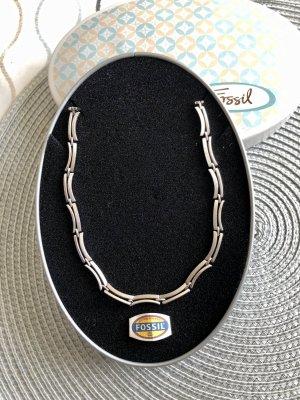 Fossil Zilveren ketting zilver Zilver