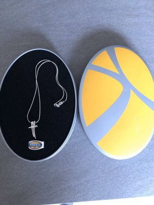 Fossil Ketting zilver Zilver