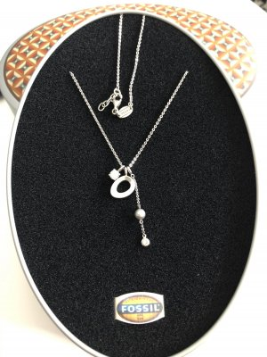 Fossil Kette Silber