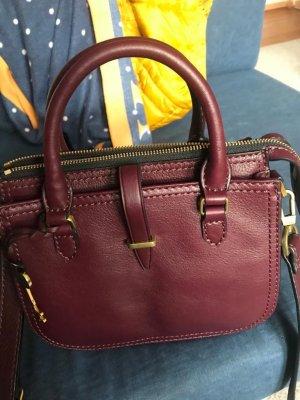 Fossil Leder Handtasche