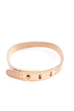 Fossil Leather Bracelet pink elegant