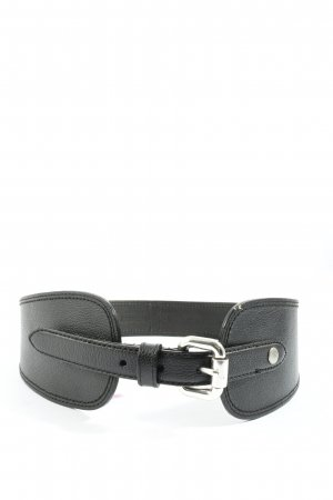 Fossil Leather Belt black party style