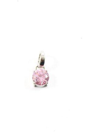 Fossil Medaglione argento-rosa stile casual