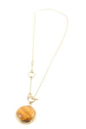 Fossil Medalik złoto-jasny pomarańczowy Z połyskiem