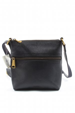 Fossil Minibolso negro look casual
