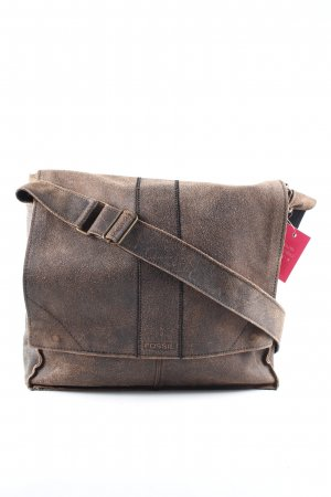 Fossil Laptop bag brown casual look
