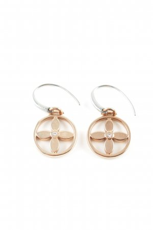 Fossil Pendientes colgante color oro look casual