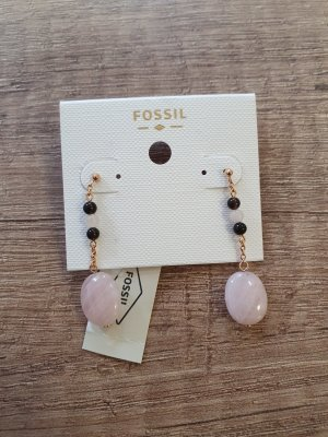 Fossil Ohrringe Damen Ohrstecker Edel-stahl Rose Rosa JF03145791 Ohrringe Neu Ohrhänger