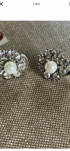 Fossil Ohrringe Perlen