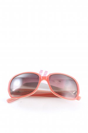 Fossil Oval Sunglasses pink casual look