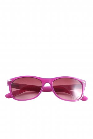 Fossil Oval Sunglasses lilac casual look