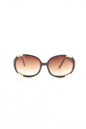 Fossil ovale Sonnenbrille mehrfarbig Casual-Look