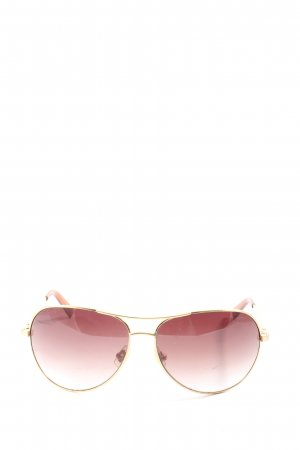 Fossil Aviator Glasses pink-gold-colored casual look