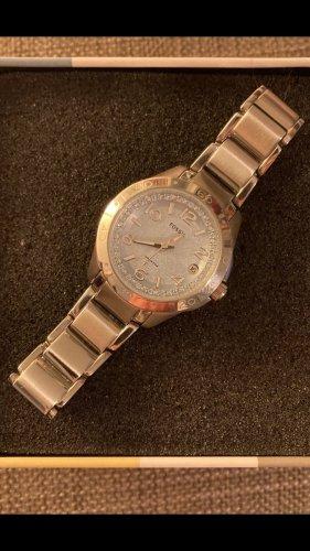 Fossil Reloj analógico azul claro