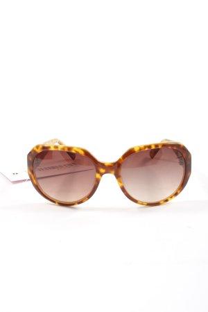 Fossil Gafas Retro marrón-naranja claro look casual