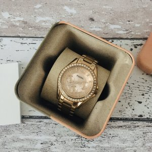 Fossil Riley Damen Armbanduhr ES2811 Roségold