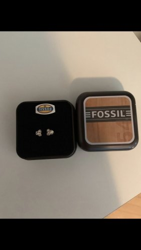 Fossil Silver Ring rose-gold-coloured-bronze-colored