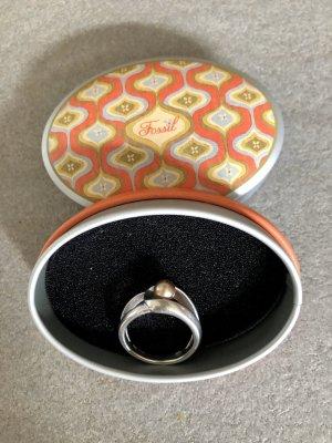 Fossil Zilveren ring zilver Zilver