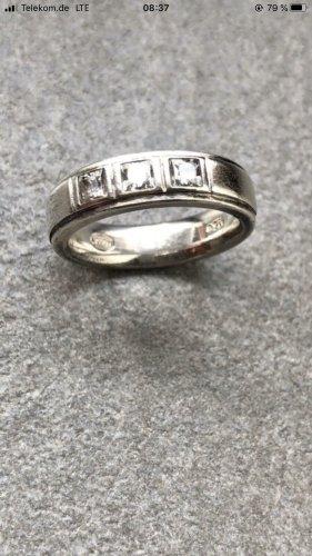 Fossil Ring Silber Zirkonia Gr.19