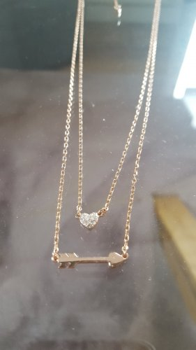 Fossil Gold Chain rose-gold-coloured
