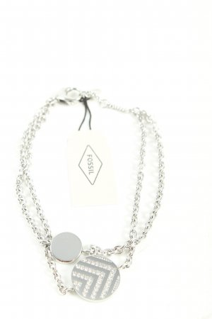 Fossil Silver Bracelet silver-colored casual look